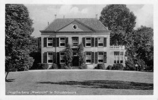 Ansichtkaart Schuddebeurs Jeugdherberg Weelzicht Zierikzee 1933 HC418
