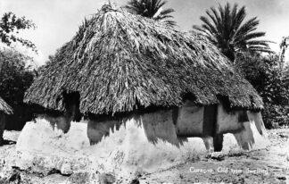 Ansichtkaart Curaçao Old type dwelling Nederlandse Antillen 1959 HC424