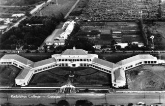 Ansichtkaart Curaçao Radulphus College School Nederlandse Antillen 1959 HC426
