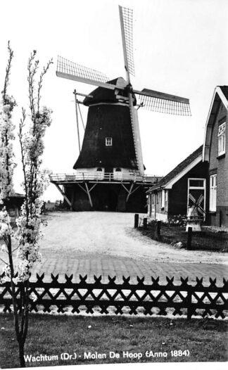 Ansichtkaart Wachtum Molen De Hoop (Anno 1884) Coevorden HC445