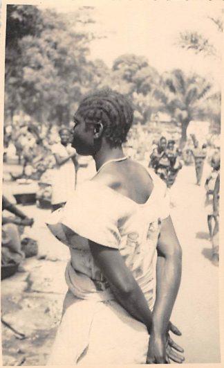 Ansichtkaart Congo Fotokaart Inlandse vrouw Afrika Africa Wereld HC457