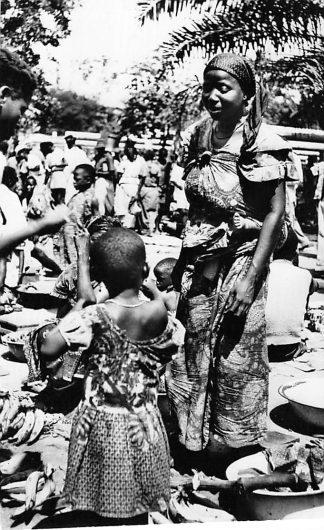 Ansichtkaart Congo Belge Scene du Marche Indigene Afrika Africa Wereld HC460