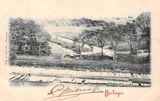 Ansichtkaart Harlingen Spoorlijn 1901 Spoorwegen Treinen HC486
