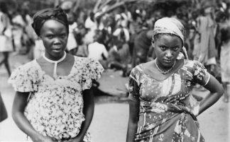 Ansichtkaart Congo Belge Type de Temme Indigene Afrika Africa Wereld HC494