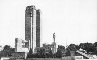 Ansichtkaart Congo België Leopoldville Monument Roi Albert 1er Afrika Africa Wereld HC499