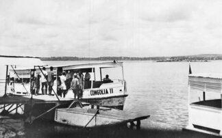Ansichtkaart Congo België Leopoldville Passage du Pool Schip Congolia II Afrika Africa Wereld HC500