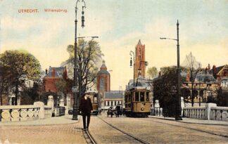 Ansichtkaart Utrecht Willemsbrug met tram 2 1914 HC511