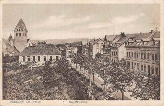 Ansichtkaart Bendorf am Rhein Hauptstrasse Duitsland Deutschland HC553