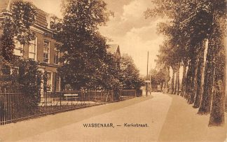 Ansichtkaart Wassenaar Kerkstraat 1929 Den Haag HC556