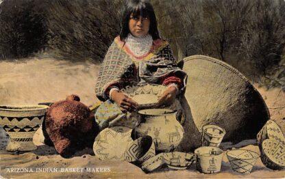 Ansichtkaart Arizona Indian Basket Makers USA Noord-Amerika HC569