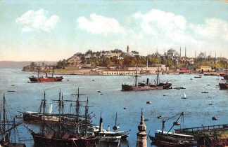 Ansichtkaart Turkije Turkey Constantinopel Istanbul La pointe du Serai Overig Europa Scheepvaart HC572