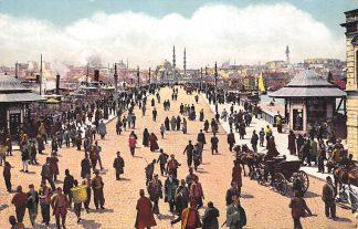 Ansichtkaart Turkije Turkey Constantinopel Istanbul Le nouveau Pont Scheepvaart Overig Europa HC574