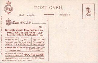 Ansichtkaart London Rotterdam Royal Mail Steam Packet & Pacific Steam Navigation Scheepvaart Bahia HC577