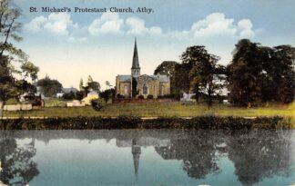 Ansichtkaart Eire St. Michael's Protestant Chruch Athy Ireland Engeland HC594