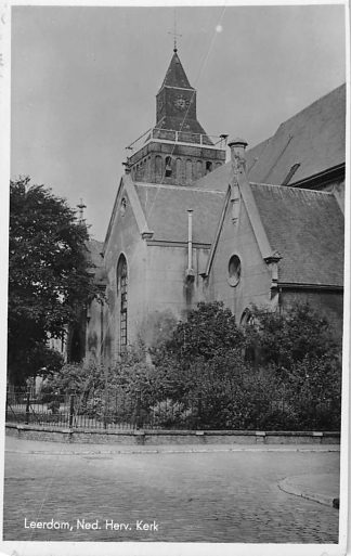 Ansichtkaart Leerdam Ned. Hervormde Kerk HC608