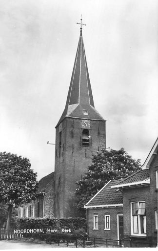 Ansichtkaart Noordhorn Hervormde Kerk HC613