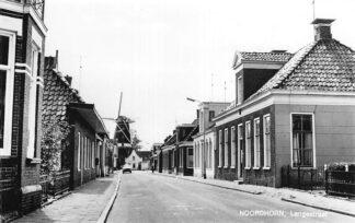 Ansichtkaart Noordhorn Langestraat Molen 1970 HC618