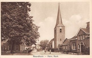 Ansichtkaart Noordhorn Hervormde Kerk HC622