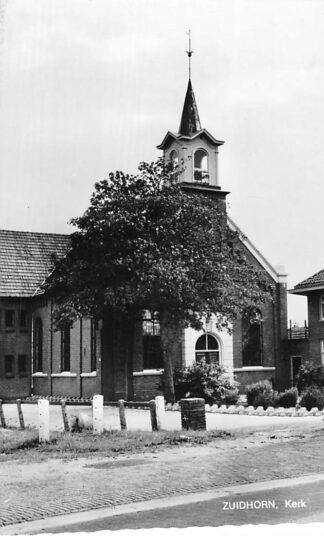 Ansichtkaart Zuidhorn Gereformeerde Kerk 1970 HC626