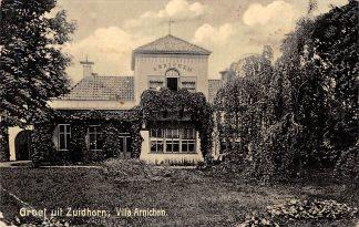 Ansichtkaart Zuidhorn Villa Arnichem 1908 HC630