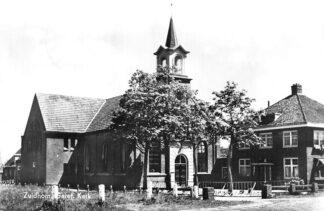 Ansichtkaart Zuidhorn Gereformeerde Kerk 1971 HC636
