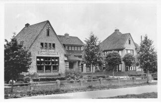 Ansichtkaart Kollum Chr. Lagere Landbouw school 1949 HC642