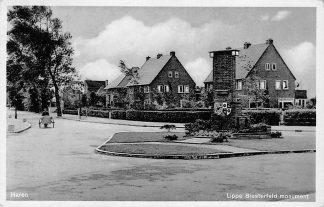 Ansichtkaart Haren Lippe Biesterfeld monument 1942 HC655