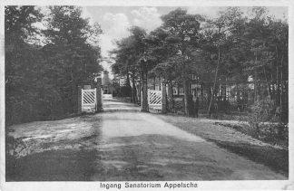 Ansichtkaart Appelscha Ingang Sanatorium 1931 HC661