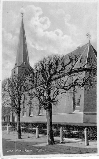 Ansichtkaart Kollum Ned. Hervormde Kerk HC667
