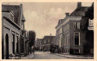 Ansichtkaart Kollum Gemeentehuis 1939 HC674