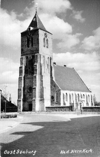 Ansichtkaart Oost-Souburg Fotokaart Ned. Hervormde Kerk HC685