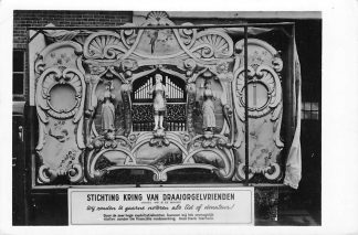 Ansichtkaart Alkmaar Stichting Kring van Draaiorgel vrienden Concert orgel De Grote Wellershaus Alkmaar HC687