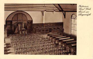 Ansichtkaart Broek op Langedijk (NH) Interieur Gereformeerde Kerk 1946 HC692