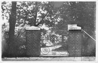 Ansichtkaart Wassenaar Schouwweg ( Militairen kerkhof ) Begraafplaats Militair 1943 HC704