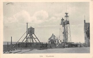 Ansichtkaart Urk Vuurtoren 1925 HC719