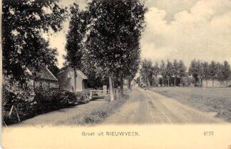 Ansichtkaart Nieuwveen Groeten uit  HC725