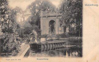 Ansichtkaart Middelburg Koepoortbrug Vivat No. 4095 HC74
