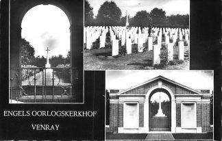 Ansichtkaart Venray Engels Oorlogskerkhof Bergraafplaats WO2 1965vHC753