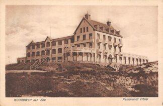 Ansichtkaart Noordwijk Rembrandt Hotel in de duinen 1924 HC758