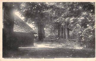 "Ansichtkaart Ulvenhout Vacantiekinderhuis ""Rotterdam"" Koloniedreef 1933 HC76"