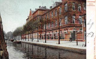 Ansichtkaart 's-Gravenhage Gem. Ziekenhuis 1905 Den Haag HC763