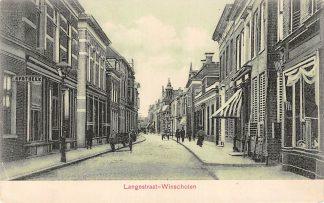 Ansichtkaart Winschoten Langestraat HC768