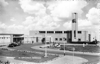 Ansichtkaart Brunssum St, Gregorius Ziekenhuis Auto HC770