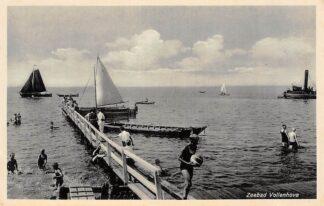 Ansichtkaart Vollenhove Zeebad Zwembad Zeil schepen HC795