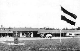 Ansichtkaart Echten Hoofdgebouw Vakantieoord Westerbergen Auto 1966 HC806