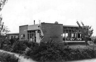 Ansichtkaart Meppel Hotel Cafe Restaurant De Halve Stuiver Hoogenveenseweg 36 1962 HC811