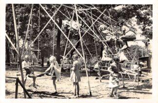 Ansichtkaart Naarden Gedeelte Speeltuin Oud-Valkeveen 1957 HC812