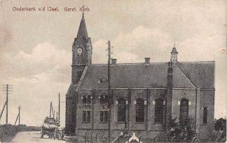 Ansichtkaart Ouderkerk aan den IJssel Gereformeerde Kerk HC819