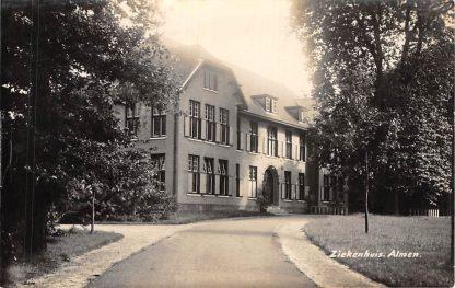 Ansichtkaart Almen Ziekenhuis Newo fotokaart 1933 HC832