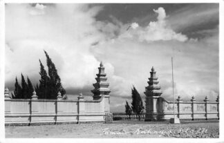 Ansichtkaart Nederlands-Indië Taman Bahagia Solo 271 Fotokaart HC838